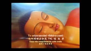 Daily Buddhist  Theravada Pali Chanting by VenVajiradhamma Thera