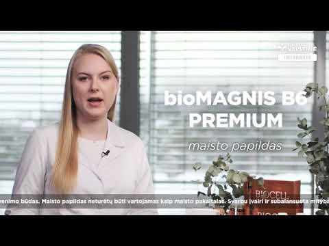 bioMAGNIS B6 PREMIUM, 20 pakelių