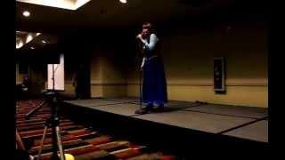 Do you Wanna Build a Snowman Live! (Momo Disney Karaoke Contest 2014)