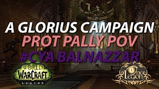Paladin Order Hall Campaign Conclusion - A Glorious Campaign / 3rd Relic Slot Unlocked