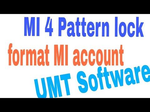 Mi 4 Pattern Unlock in UMT,Mi 4 MI Account Reset UMT Dongle