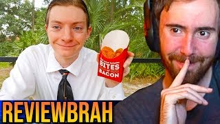 Asmongold Reacts To Reviewbrah Wendy's Spicy Chicken Nuggets Food Review