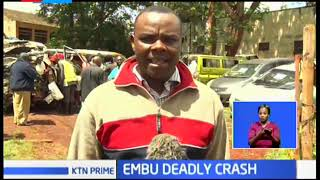 Embu deadly crash leaves some passengers in ICU