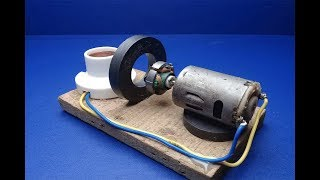 Electric Energy Free generator for Self Running DC motor At Home New/Handmade 2019