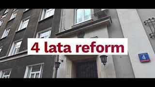 Reforma wymiaru sprawiedliwości! Podsumowanie 4 lat.