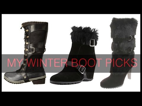 My WINTER BOOTS Picks For Both Heavy Snow and City Life