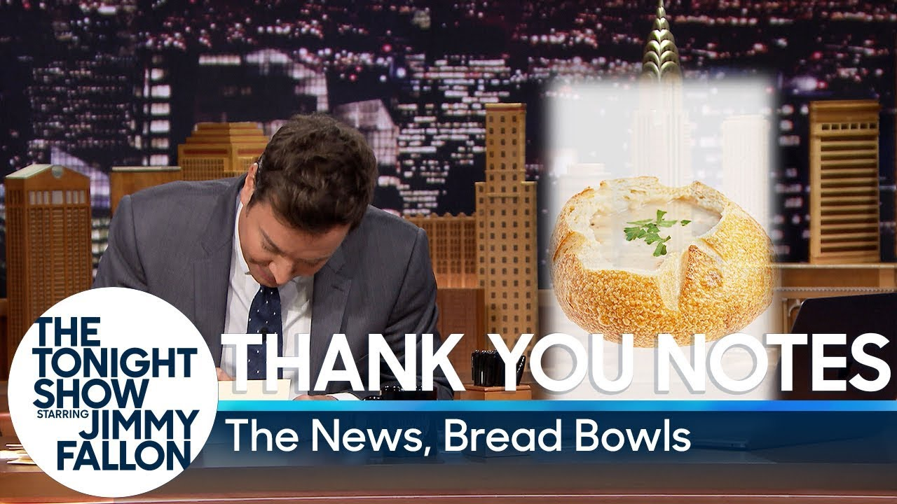 Thank You Notes: The News, Bread Bowls thumbnail