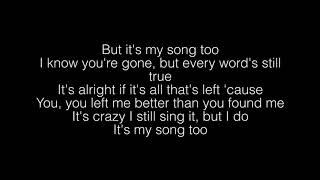 Hunter Hayes  My Song Too Lyrics