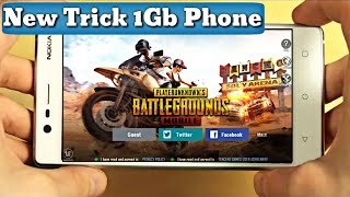 PUBG Mobile lag fix 1GB Ram Phones,Extreme Graphics on low end