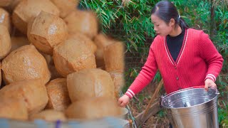 Video : China : Tofu (DoFu) - traditional country style - making and cooking