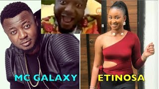 Etinosa On MC Galaxy's Instagram LIVE Video