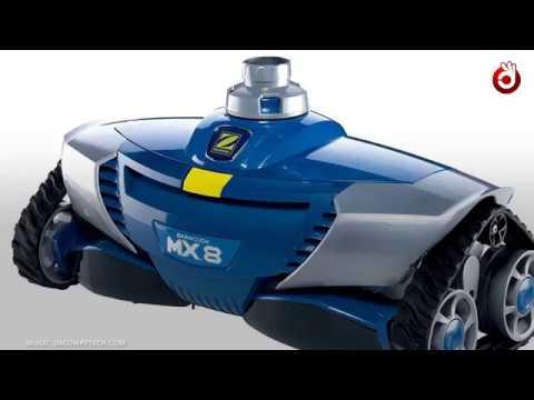 Zodiac Robot Nettoyeur de Piscine Hydraulique, Fond et Parois, Pour Piscines 12 x 6 m Maximum