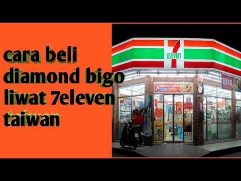 CARA BELI DIAMOND BIGO LIWAT 7ELEVEN TAIWAn