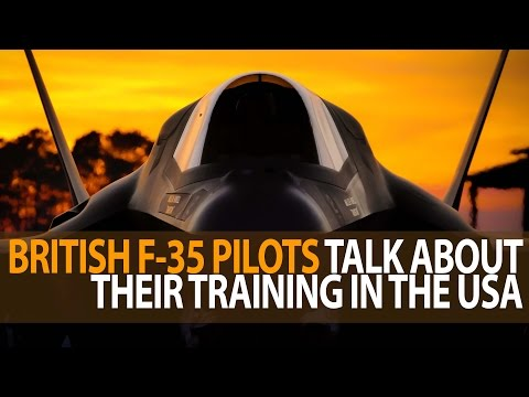 British Pilots Training on F-35B Fighter Jets in USA