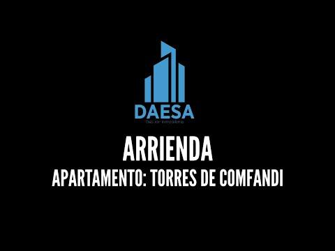 Apartamentos, Alquiler, Torres de Comfandi - $730.000