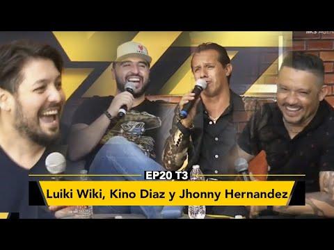 Luiki Wiki, Jhonny Hernández y Kino Diaz en Zona de Desmadre
