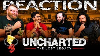 Uncharted: The Lost Legacy Story Trailer REACTION!! E3 2017