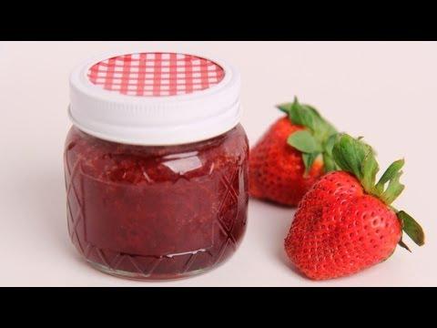 Homemade Strawberry Jam Recipe – Laura Vitale – Laura in the Kitchen Episode 386