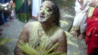 Snake God in Human Body  - Naga Darshana Indian Religious Ceremony Hindu Trance Ritual 🔥
