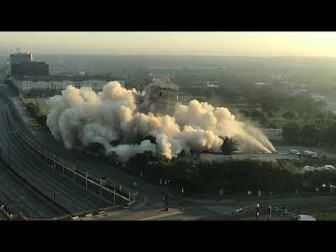 This morning's implosion did not end well.