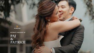 Intimate Wedding Of Paj And Patrice