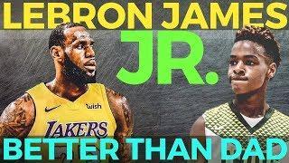 Lebron James Jr: Astig na Maglaro Mas Magaling pa Yata kay Daddy Lebron!