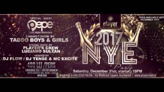 NYE 2017 Party at Player Club Bucharest