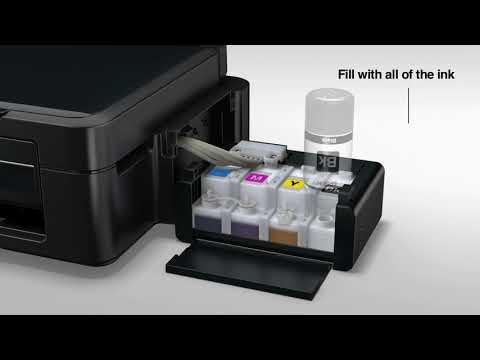 잉크탱크 시스템 프린터/복합기 설치하기