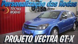 Projeto Vectra GT-X Personalização das Rodas