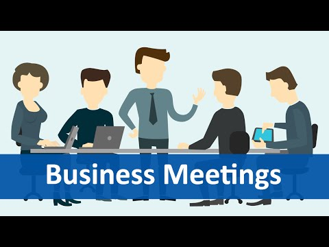 Common Expressions #6 (Business Meetings) | English Listening & Speaking Practice