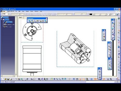 Breakout View  - Catia V5 Drafting Quick & Basic - All About Breakout Views Mp3