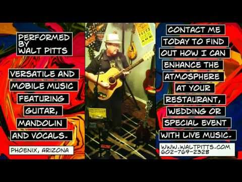 """""""Facebook Faux Pas"""" - original fingerstyle guitar song by Walt Pitts"""