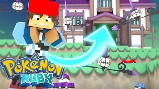 Minecraft: Pokemon Ruby - Entrar Na Casa Assombrada ??? #161