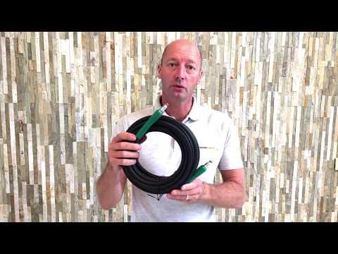 Bosch AQT Domestic Pressure Washer Hose (6m / 8m / 10m / 15m / 20m)