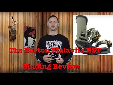 The 2019 Burton Malavita EST Snowboard Binding Review
