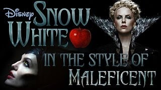 'SNOW WHITE' meets 'MALEFICENT' (Someday my Prince Will Come Cover)