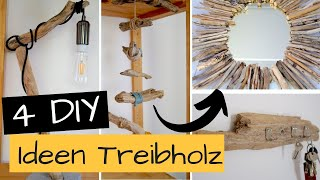 4 DIY Upcycling Ideen aus Treibholz