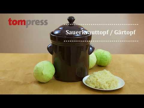 Sauerkrauttopf / Gärtopf, 10 Liter.