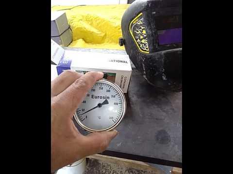 Termometro para Horno de lena y a gas