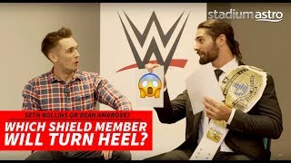 Seth Rollins reveals which member of The Shield could turn heel next!