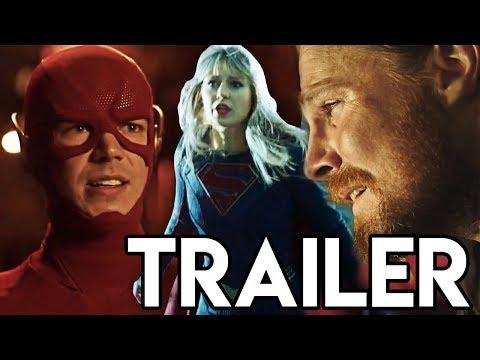 Crisis on Infinite Earths Supergirl Trailer - Green Arrow DEATH Scene & Earth 38 Destroyed!?
