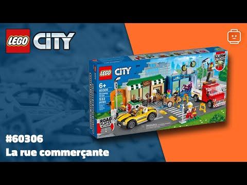 Vidéo LEGO City 60306 : La rue commerçante