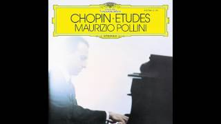 "Maurizio Pollini — Etude Op. 25, No. 11 ""Winter Wind"" (Chopin)"