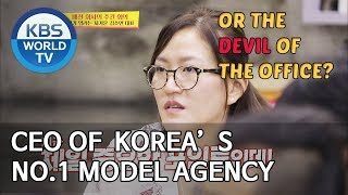 How the CEO (or Devil) of Korea's No.1 Model Agency works [Boss in the Mirror/ENG/2019.10.27]