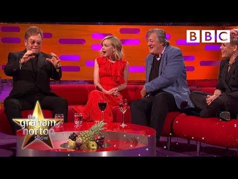 Who gave Elton John diamond-encrusted sex toys for his wedding? | The Graham Norton Show - BBC