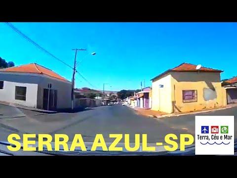 UMA VOLTA DE CARRO PELA CIDADE -  SERRA AZUL-SP 