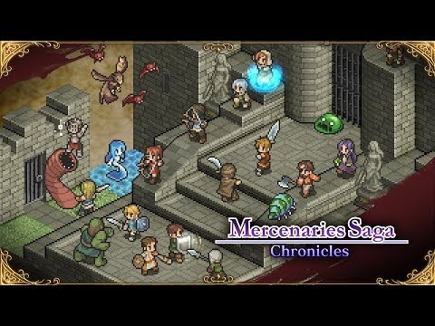 Mercenaries Saga Chronicles Nintendo Switch Launch Trailer (North America) thumbnail