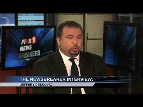 FIOS1 News: Jeff Deskovic speaks about Adjusting to life on the outside, 8 years after release (2015)