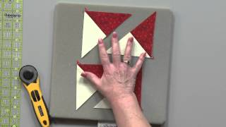 Quarter-Square Triangles (QST) from Squares: Quilting Tips