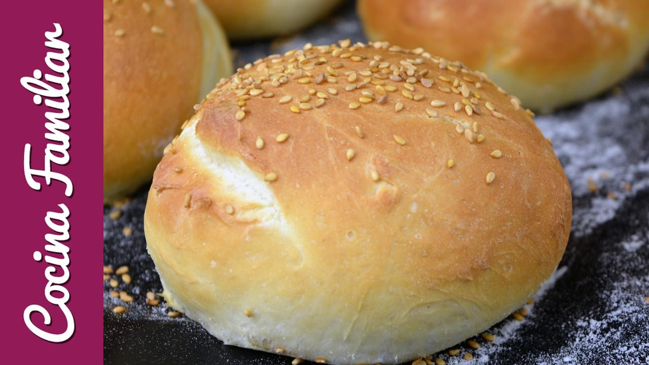 Pan de hamburguesas, receta casera de pan | Javier Romero